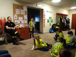 Zwizytą wPaństwowej Straży Pożarnej